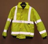 Waterproof Hi Viz Bomber Jacket