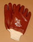PVC Gloves with elastic wrist